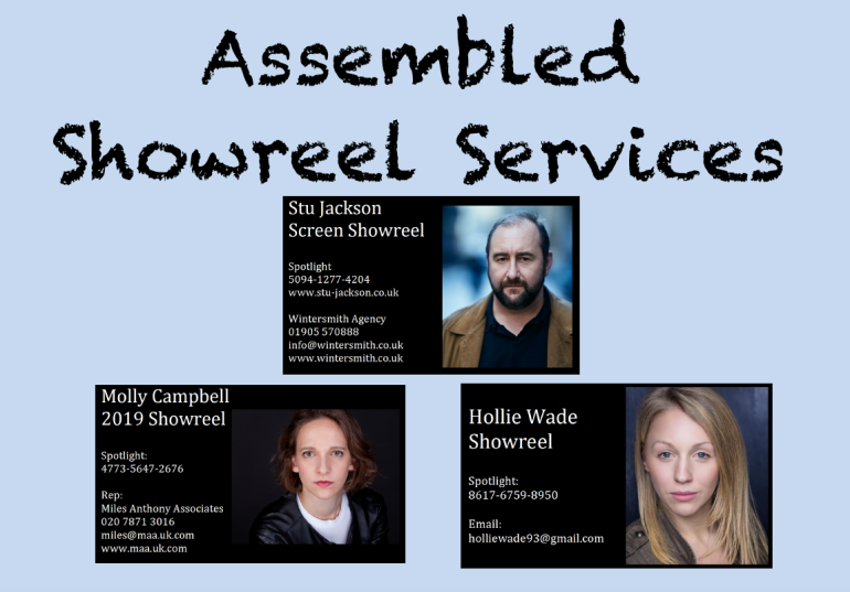 Assembled Showreel Services